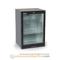 Armario Expositor Refrigerador Back Bar BBC138 Cool Head