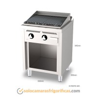 Dimensiones Barbacoa Estante B6006E - FAINCA