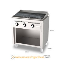 Dimensiones Barbacoa-Estante-B6008E - FAINCA