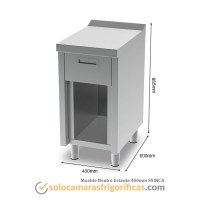 Ficha Técnica Mueble Neutro Estante 400mm FAINCA